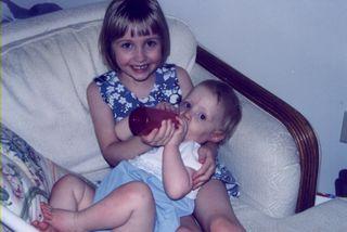 Rachel and Erin